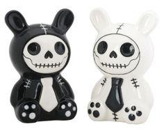 Skull salt and pepper shakers · Skullspiration.com - skull designs, art, fashion and moreSkullspiration.com – skull designs, art, fashion and more