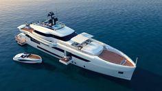 WIDER 150 - Diesel-Electric Motor Yacht by WIDER YACHTS under construction Read more: www.yachtemoceans.com/wider150 #yacht #jacht #yate #yatch #motoryacht #boat #boot #yachtporn #boatporn #superyacht #megayacht #luxury #luxuryyacht #wider150