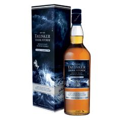 Talisker Dark Storm - travel retail exclusive recently completed at work