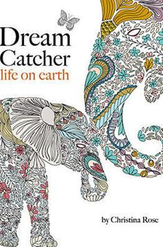 Dream Catcher Life On Earth By Christina Rose Coloring BooksAdult