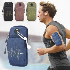 Running Sports & Entertainment Newly Running Bags For Phone Waterproof Multi-grid Running Armband Sport City Jogging Bags Gym Bag Outdoor