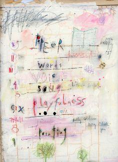 Wordplay Painting – with Lynn Whipple | Carla Sonheim