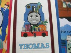 REDUCED-Thomas the Train and Friends- Set of 6- Ready for your child's favorite book -Goodie Bag for a birthday party-thank you- scrapbook by ScrapPantry, $3.00 USD