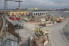 Parkhaus Hauptbahnhof Ost (Februar 2014)