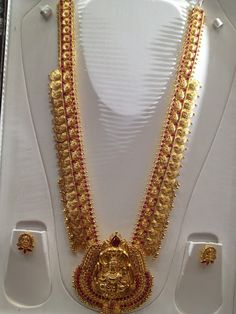 2 in 1 Vaddanam and Kasu Haram ~ Latest Jewellery Designs