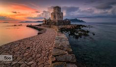 The mythical castle of Methoni.. South PeloponnisosGreece.  If you want to learn some more things about this place..https://en.wikipedia.org/wiki/Methoni_Messenia