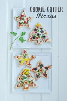 Making Dough: Use cookie cutters to shape the dough for individual pizzas – perfect for an after-school snack or party appetizer. Find more cute, easy, low card, gluten free and healthy Christmas snacks ideas for kids here. Holiday Snacks, Christmas Snacks, Christmas Goodies, Holiday Cookies, Kids Christmas, Christmas Recipes, Christmas Parties, Party Snacks, Christmas Baking