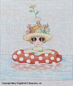 Needlepoint Canvas: This is the Life – Mary Engelbreit Studios