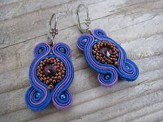 Ridgways / Passion teal surprise...soutache