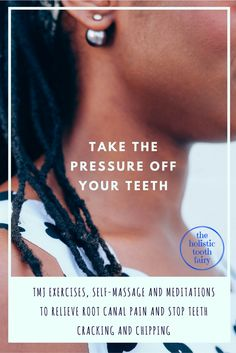 TEETH WHITENING REMEDIES Relieve the tension in your jaw to relieve toothache, root canal, tooth cracking and chipping teeth. Teeth Whitening Remedies, Natural Teeth Whitening, Cure Tooth Decay, Jaw Clenching, Remedies For Tooth Ache, Jaw Pain, Tooth Pain, Receding Gums, Self Massage