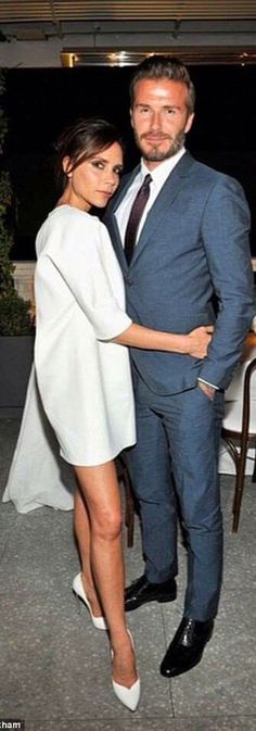 Class never goes out of style . / David and Victoria Beckham