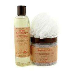 Carol`s Daughter Lavender Heavenly Body Set: Bath Salts + Cleansing Gel + Loofah Sponge - 3pcs
