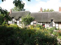 K Williams Stratford Upon Avon Anne Hathaway's Cottage, Stratford upon Avon, Warwickshire, England ...