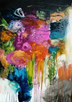 Stealing your heart away 30 x 40 inch canvas Wendy McWilliams