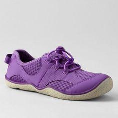 Lands' End Purple kids' oxford water shoes- at Debenhams.com