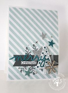 card christmas tree trees  Love for Stamping: Merry Christmas!
