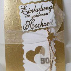 Einladungskarten Goldene Hochzeit Selbst Gestalten : Einladungskarten Zur  Goldenen Hochzeit Selbst Gestalten Kostenlos   Online Einladungskarten