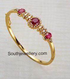 Stylish Ruby Diamond Bracelets