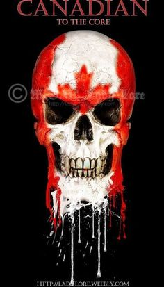 To The Core Collection: Canada by Lore-Of-Destiny on deviantART Skeleton Tattoos, Skull Tattoos, Hand Tattoos, Cool Tattoos, Sweet Tattoos, Awesome Tattoos, Artwork Pictures, Cool Pictures, Art Pics