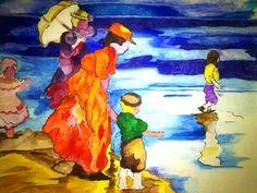 """""""Mare"""" Watercolors Winsor&Newton su cartoncino Winsor&Newton"""