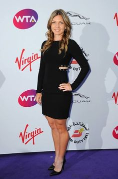 Simona Halep Photos - Simona Halep attends the annual WTA Pre-Wimbledon Party presented by Dubai Duty Free at The Roof Gardens, Kensington on June 2015 in London, England. French Open, Monica Puig, Camila Giorgi, Wimbledon 2015, Nice Dresses, Dresses For Work, Tennis Players Female, Tennis Stars, Good Looking Women