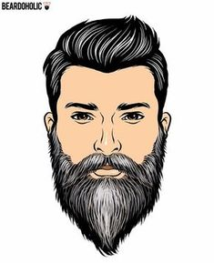 Even Flow – Full and Long Beard Styles Polished Beard Best Picture For beard tattoo For Your Taste You are … Long Beard Styles, Beard Styles For Men, Hair And Beard Styles, Great Beards, Awesome Beards, Bart Styles, Beard Hair Growth, Mens Hairstyles With Beard, Cut Hairstyles