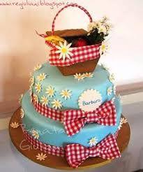 Resultado de imagen para tortas de canasta de picnic