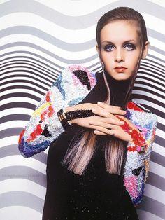 60''s fashion  Twiggy