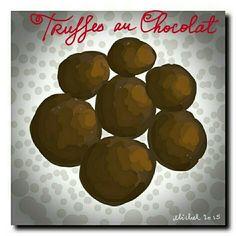 Truffes au chocolat by Michel Eamon 2015