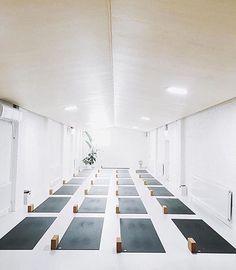 This is my kind of yoga studio  @good_vibes_yoga   yoga     brightspaces  healthyliving selfcare wellness yoga studio
