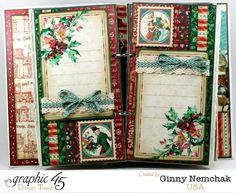 A Christmas Carol Mini Album by Ginny #graphic45