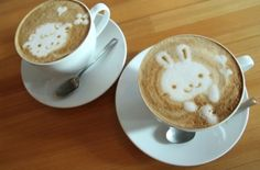 Happy Easter from your coffee! #Easter #Coffee #Foam #Art