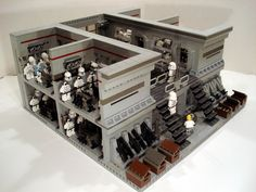 lego starwars clone base - Google Search