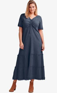 Casual Dresses Plus Size, Plus Size Outfits, Comfy Dresses, Thick Girls Outfits, Dress Tutorials, Plus Size Fashion For Women, Plus Size Lingerie, Dress Patterns, Coat Patterns