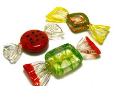 vintage murano glass candies