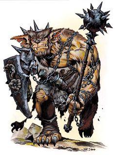 Klarg, 1st leader crag-maw cave