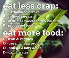 Eat more food...