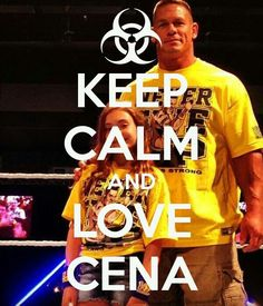 keep calm and love cena