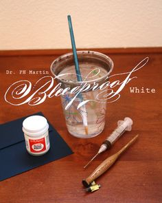 Schin Loong's tutorial on using Dr. PH Martin's Bleedproof White