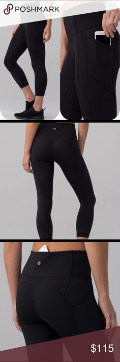 Lululemon All The Right Places Crop (Size 4) Lululemon All The Right Places Crop in Black. In great condition. $98 lululemon athletica Pants Ankle & Cropped