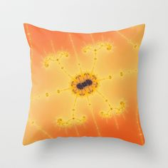 fractal_0055 Throw Pillow by fracts - fractal art - $20.00