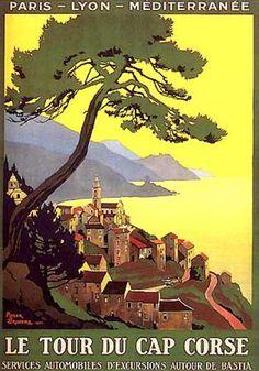 Le Tour du Cap Corse by Roger Broders (1923)
