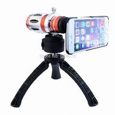 [ 22% OFF ] Apexel 12.5X Zoom Lens Telescope Phone Camera Lens For Iphone 6 With Case Tripod 3-In-1 Telescope Tripe Zoom Lens Cl-43Ip6-47