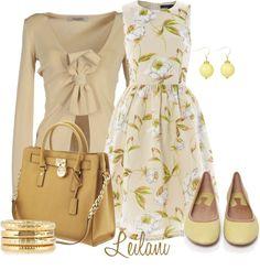 """Spring dress"" by leilani-almazan on Polyvore"