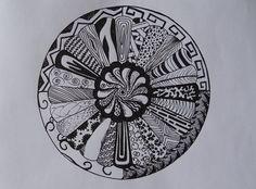 Zentangled Mandala by Narmita08 on DeviantArt