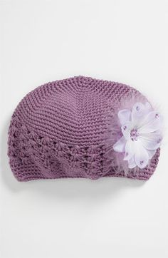 PLH Bows & Laces Crochet Hat (Infant) available at Nordstrom