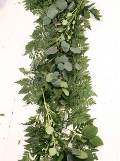 DIY Network gives easy step-by-step instructions for making your own garland.