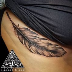 Eagle Feather Tattoos, Feather Tattoo Arm, Feather With Birds Tattoo, Feather Drawing, Feather Tattoo Design, Neue Tattoos, Body Art Tattoos, Sleeve Tattoos, Tattoos On Side Ribs