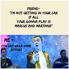 Yep that's exactly what I would say if I could drive but no I'm thirteen so I can't ❤️❤️❤️❤️ Keep Calm And Love, Love You, My Love, Normal Person, My King, Cute Guys, Fangirl, Funny Memes, Fandoms