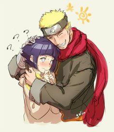 #naruhinaislove - Adult Naruto fawning over little Hinata